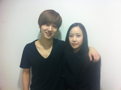 Yesung With Jongjin's girlfriend